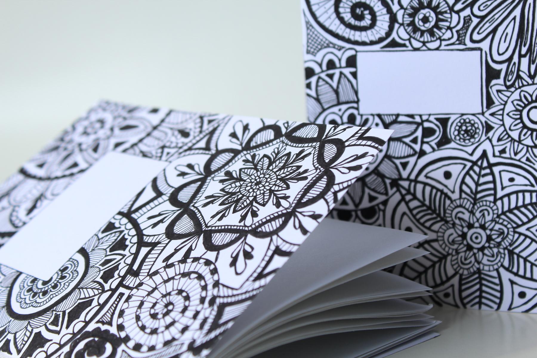 Doodle Mandala Zentangle Notizbuch