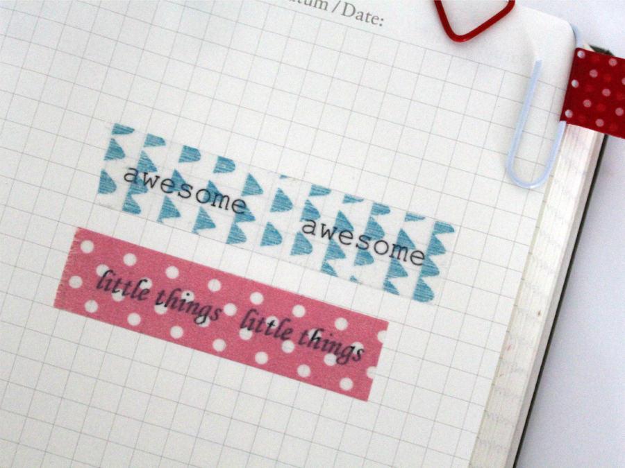 Pimp Your Calendar DIY
