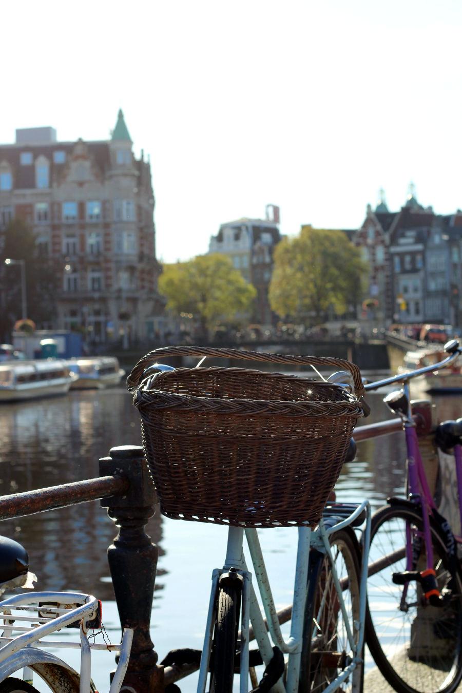 Amsterdam Fahrrad Grachten