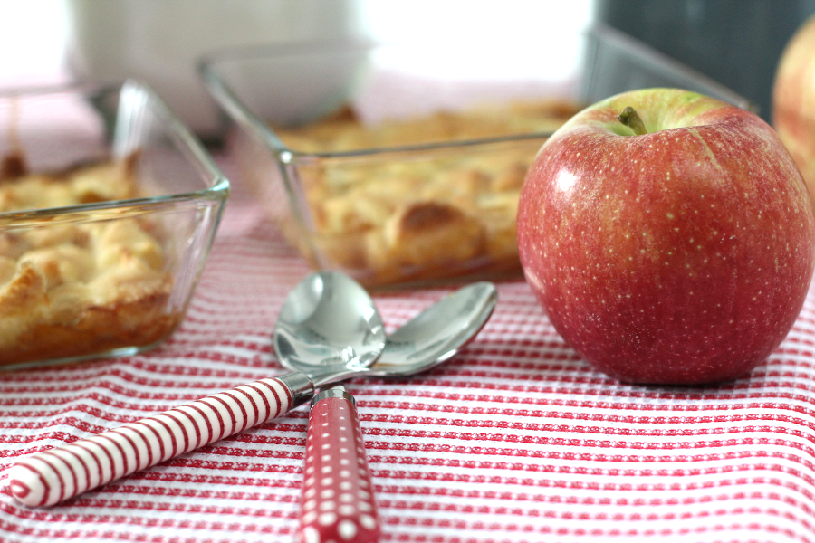 Apple Crumble Rezept
