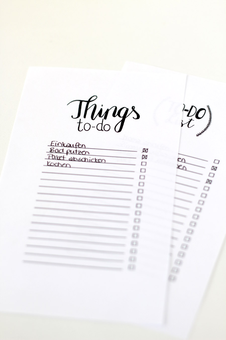 optimale To-Do-Liste