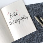 Faux Calligraphy