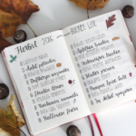 Herbst Bucket Liste