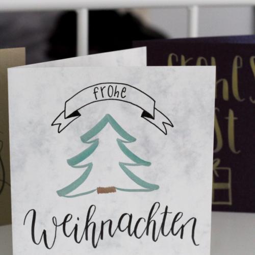 Frohe Weihnachten – Weihnachtskarte