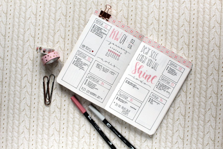 Favorite Instagram Accounts Bullet Journal