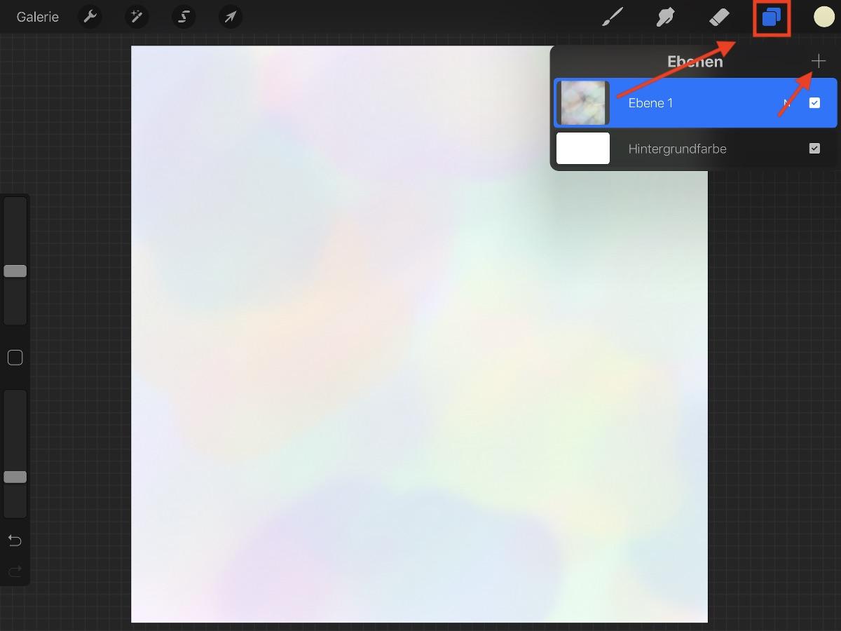 Ombrè Lettering iPad Pro