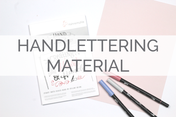 Handlettering Material